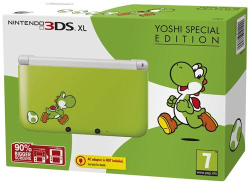 Nintendo 3DS XL Yoshi Special Edition für 161,37 € bei Amazon UK - 13% sparen