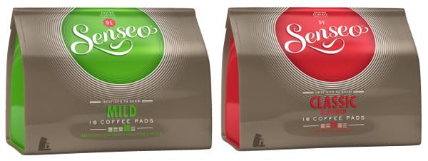 Saturn: Senseo Pads Mild oder Klassisch (16 Stück) für 1,55 € je Packung