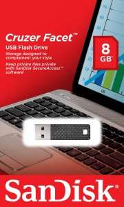 Sandisk Cruzer Facer USB 2.0-Stick (8 GB) um 6,99 € - bis zu 29% sparen