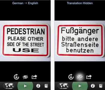 """""""Word Lens Translator"""" App kostenlos für Android und iOS - 4,49 € sparen"""