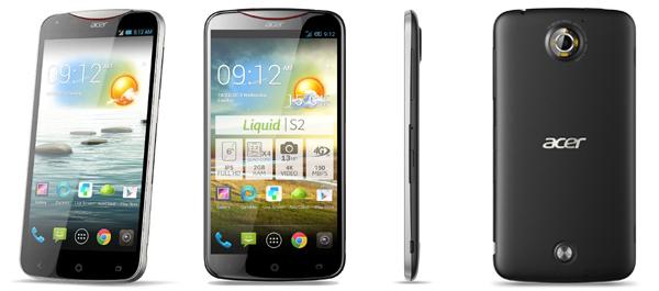 "Android-Smartphone Acer Liquid S2 (6"", 13 MP, LTE) für 299 € - 13% Ersparnis"