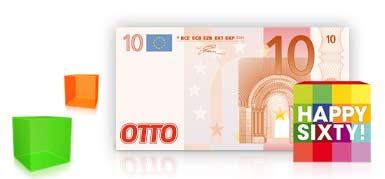 10€ OTTO Gutschein - für 4,05€ kostenlos einkaufen