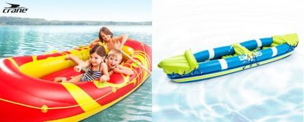 Hofer: Crane Schlauchboot oder Kajak inkl. Paddel und Aufbewahrungstasche für je 39,99 €