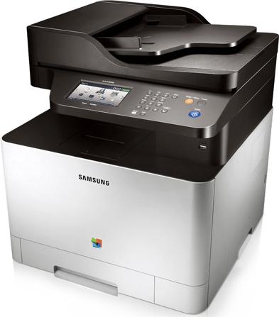 4-in-1-Farblaser-Multifunktionsgerät Samsung CLX-4195FW für 269 €