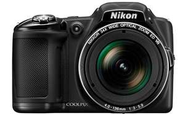 Bridge-Kamera Nikon Coolpix L830 (16 MP, 34x opt. Zoom) für 185 € bei Amazon