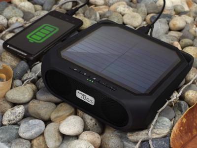 "Soulra ""Rugged Rukus"" Bluetooth-Soundsystem mit Solarmodul um 60 € - bis zu 27%"