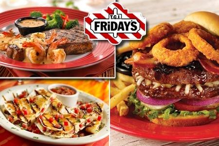 TGI Fridays Wien - 1+1 gratis Hauptspeise - bis zu 50% sparen