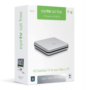 """Elgato """"EyeTV Sat Free"""" TV-Tuner für DVB-S2 (USB 2.0) um 77,95 € - bis zu 10% sparen"""