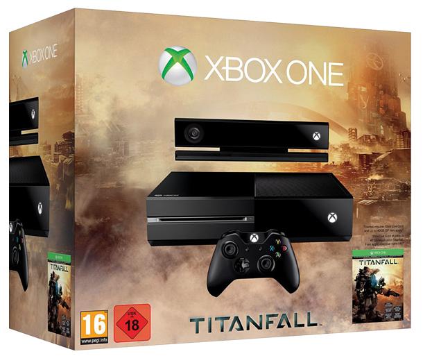 Xbox One Titanfall-Bundle (500 GB) für 399 € bei Ebay - 11% sparen