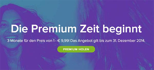 3 Monate Spotify Premium für 9,99 € statt 29,97 € - 66% sparen! *Update*