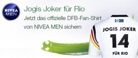 Amazon: Nivea Men Produkte um gesamt 12 € kaufen - gratis DFB-Fan-Shirt & gratis Versand dazu bekommen - bis zu 61% sparen