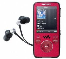 Sony NWZ-S639 16GB für 112€
