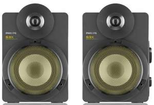 Philips BTS3000G/10 S3X - kabellose Studio-Lautsprecher (Bluetooth, 30 W) für 69€ - 30% sparen