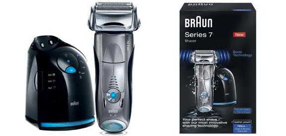 Braun Herrenrasierer Series 7 799cc-6 für effektiv 139 € durch 40 € Cashback - 16% sparen