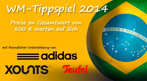 Preisjäger-Tippspiel zur Fußball WM 2014 - Runde 1: Brasilien gegen Kroatien