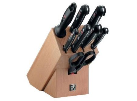 Zwilling Twin Gourmet Messerblock (9-teilig) für 99 € - 17% sparen