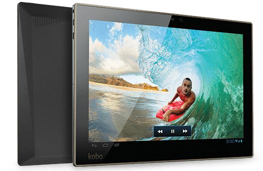 """Android-Tablet Kobo Arc 10HD (10,1"""", 2560x1600 Px) für 149 € *Update* bis zu 27% sparen"""