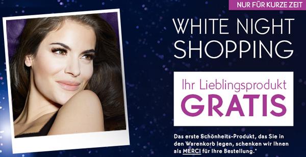 Top! Yves Rocher White Night: 1. Produkt im Warenkorb gratis bekommen! *Update* Versandkosten sparen!