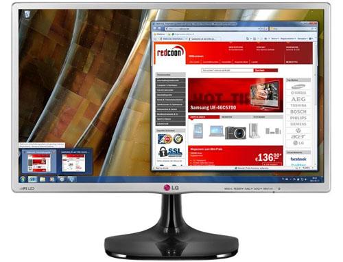 "LED-Backlight-Monitor LG 24MP56HQ (23,8"", Full HD, HDMI) für 99 € - 40% sparen"