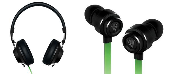 Bügelkopfhörer Razer Adaro Stereo + Adaro In-Ear-Ohrhörer für 105,90 € - 40% sparen