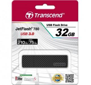 """Transcend USB 3.0 Stick """"JetFlash 780"""" (lesen: 210MB/s, schreiben: 75 MB/s) um 23,90 € - bis zu 19% sparen"""