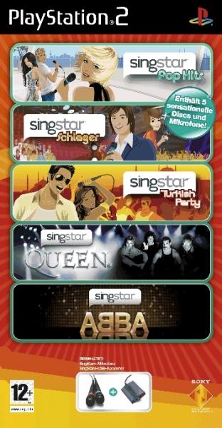 Ebay WOW von Morgen - SingStar Superpack (PS2) inklusive 2 Mikrofone für 50€