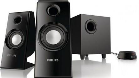 """Philips """"SPA4355/12"""" 2.1 Lautsprechersystem (30 Watt) um 30 € - bis zu 22% sparen"""