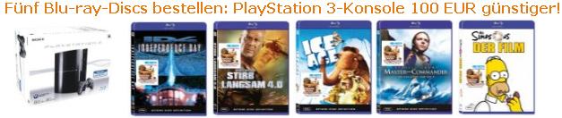 Amazon unterbietet Saturn Teil 2 - Playstation 3 und Musik Angebote