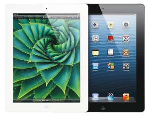 Apple iPad 4 (16 GB, WiFi, Retina) für 299 € - 9% sparen