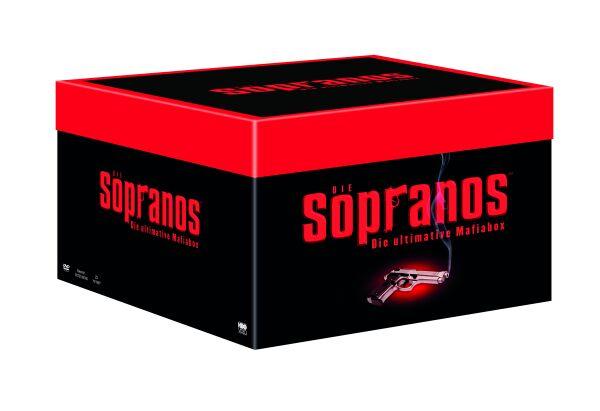 [DVD] Die Sopranos - Die ultimative Mafiabox für 100€