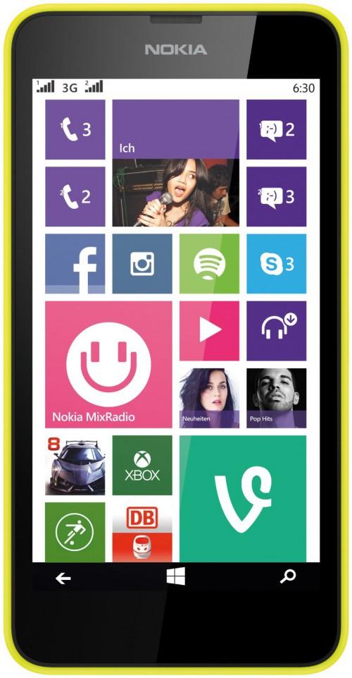 Nokia Lumia 630 Smartphone in verschiedenen Farben mit Gutschein bei Amazon (nur Studenten) ab 113,94 € - 13% gespart