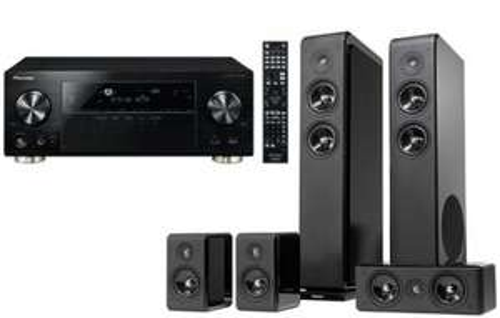 7.2 AV-Receiver Pioneer VSX-924-K & 5 Lautsprecher Pro Avanto 5.0 um 749 € – 35% Ersparnis