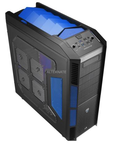 PC-Gehäuse Aerocool XPredator Evil Blue Window für 94,85 € - 24% Ersparnis