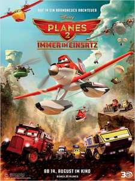 Kostenlos ins Kino: Planes 2 – Immer im Einsatz (10 Städte in DE) für ADAC Mitglieder
