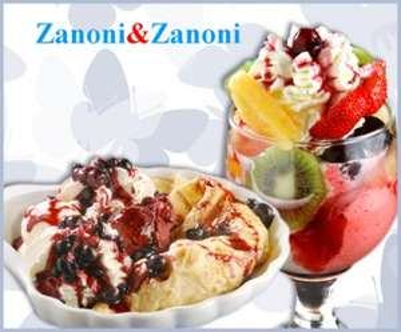 Zanoni & Zanoni (1010 Wien) Wertgutschein für Eisbecher oder Crêpes - 47% sparen