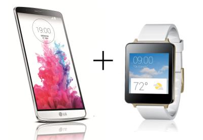 """LG """"G3"""" Smartphone kaufen - LG """"G Watch"""" im Wert von 199 € gratis dazu erhalten - 21% Ersparnis"""
