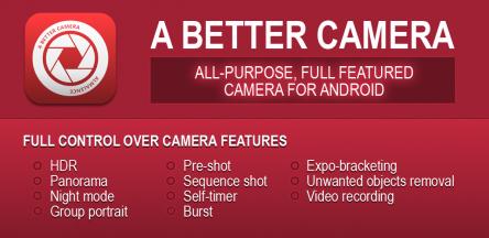 A Better Camera App für Android - komplett kostenlos - 4,49 € sparen
