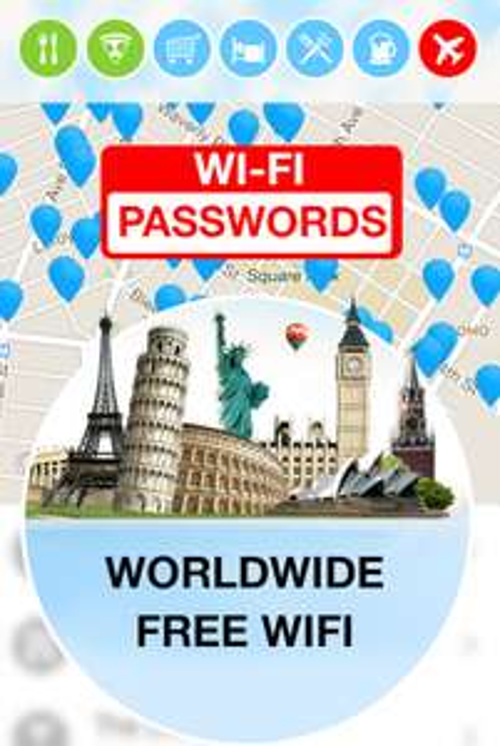 WiFi Map Pro (gratis WLAN Passwörter für unterwegs) für iOS und Android komplett kostenlos - bis zu 4,99 € sparen