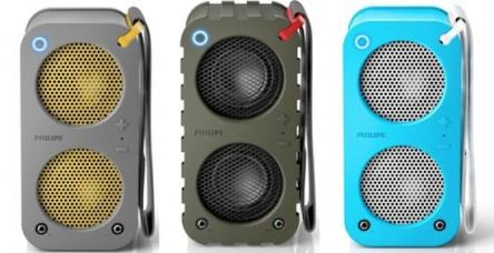 """Philips SB5200 """"BR-1Xs"""" Bluetooth Lautsprecher (blau oder grau) um 69,99 € - bis zu 15% sparen"""
