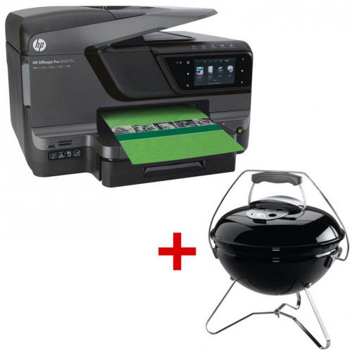 HP Officejet 8600 + Weber Smokey Joe Grill um 170,98 € - 34% Ersparnis