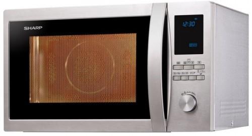 """Sharp """"R-982STWE"""" Mikrowelle mit Grill/Heißluft um 265,80 € - 28% sparen"""