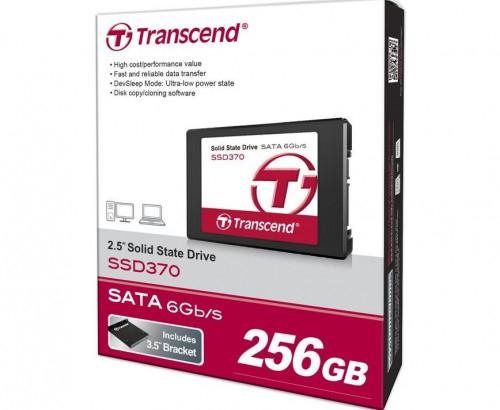 """Transcend """"SSD 370"""" interne SSD (256 GB, 2,5 Zoll, SATA III) um 87,90 € - bis zu 18% sparen"""