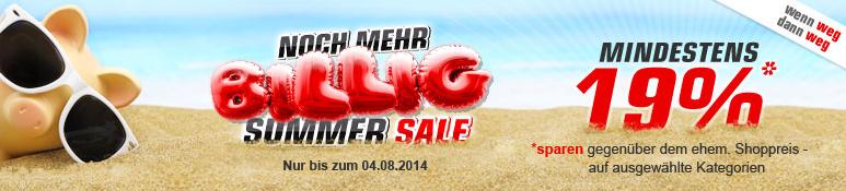 Top! Redcoon Summer Sale mit sehr vielen guten Angeboten (8% - 32% Ersparnis)