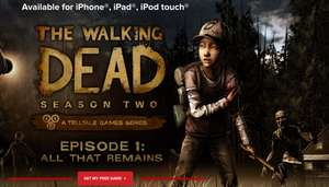 Gratis Game für iOS: The walking dead - Season 2 - Episode 1 statt 4,49 €