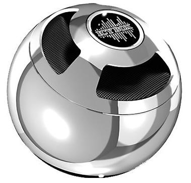 Icy Box Bluetooth-Lautsprecher silber um 44,94 € - 18% Ersparnis
