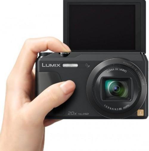 "Panasonic Lumix ""DMC-TZ55EG"" Digitalkamera um 192,44 € - 15% sparen"