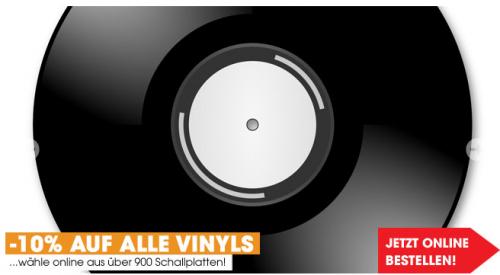 Schallplattenaktion bei Libro bis 12. August 2014 auf alle Vinyls 10% Rabatt