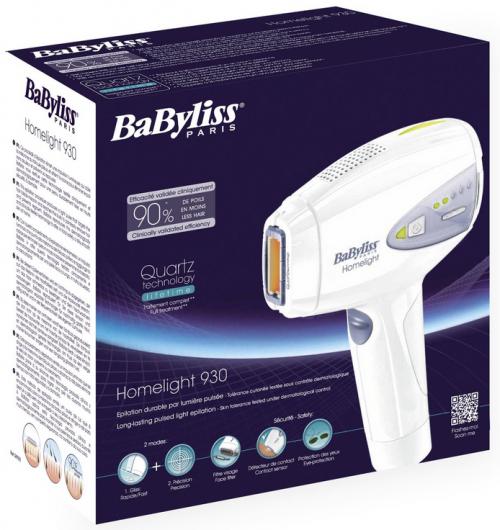 Haarentfernungsgerät BaByliss G930E IPL um 199 € - 20% Ersparnis