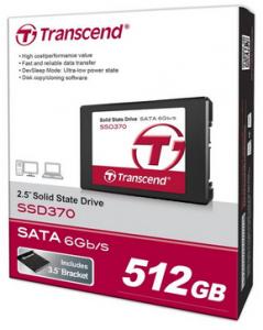 """Transcend """"SSD 370″ interne SSD (512 GB) um 174,90 € - bis zu 15% sparen"""
