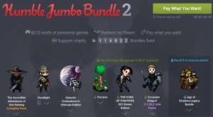The Humble Jumbo Bundle 2 ab 1 $ - Steam Keys (Win) für 3 Spiele